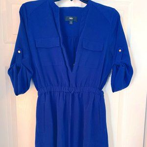 Mossimo Royal Blue Longsleeve Dress